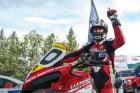 Bruno Langlois on Ducati Multistrada 1200 S at Pikes Peak