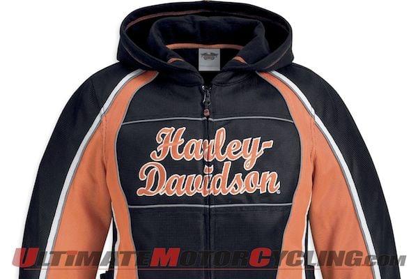 Harley-Davidson Releases Women's 3-in-1 Mesh Jacket