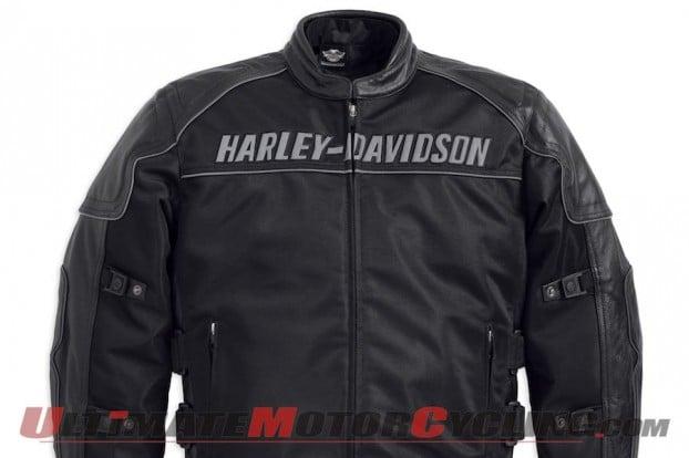 Harley-Davidson Releases Blackoak Mesh Motorcycle Jacket