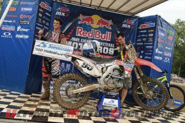 AMSOIL Honda Riders Win Opening Day at Loretta Lynn's Motocross