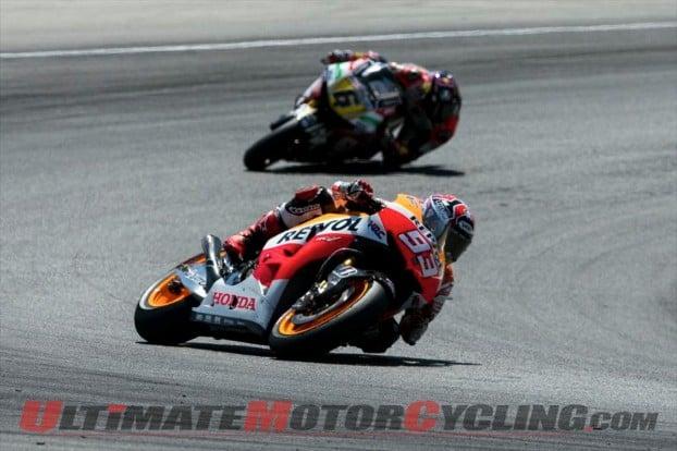 Laguna Seca MotoGP Podium