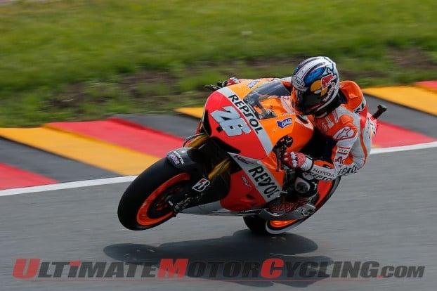 Honda's Marquez Earns Pole for Sachsenring MotoGP