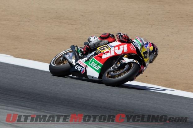 Laguna Seca MotoGP: Honda's Marquez Fastest on Friday