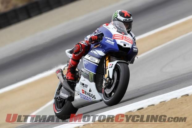 Laguna Seca MotoGP | Marquez Leads Rossi in Free Practice 3
