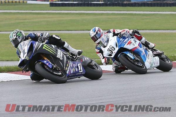 2013 Mid-Ohio AMA SuperBike   Race 2 Results