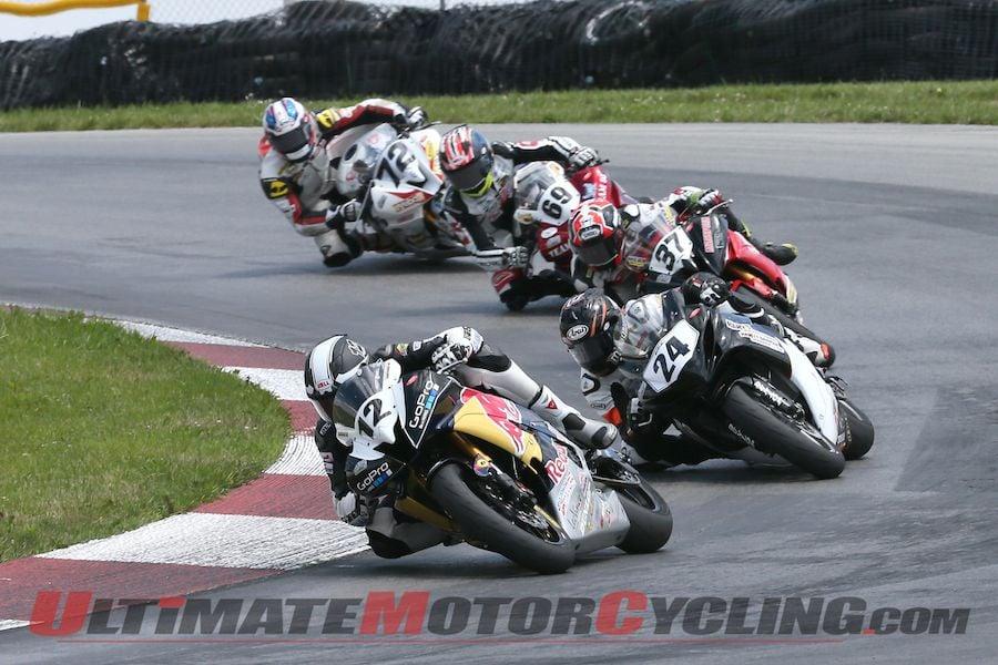 Puerta Dominates Race 1 of Mid-Ohio AMA SuperSport