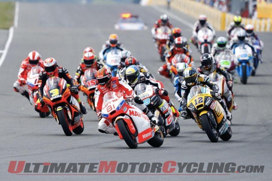 2013 Sachsenring Moto2 | Results