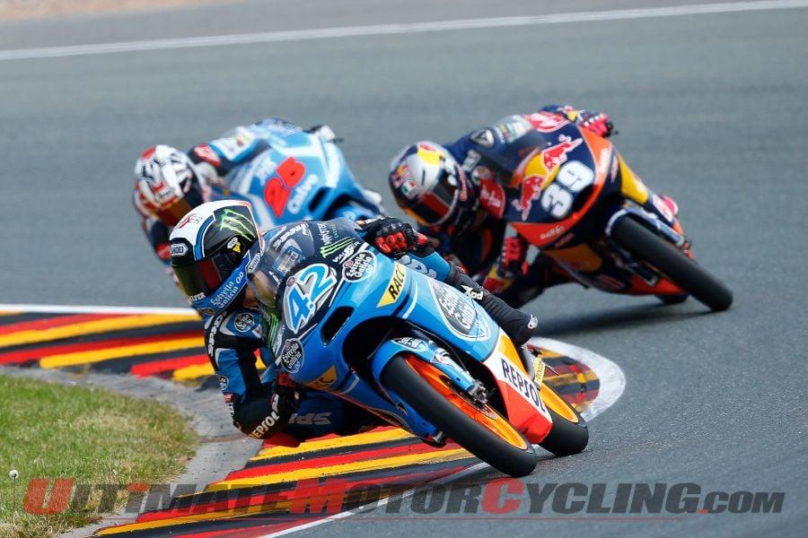 2013 Sachsenring Moto3 | Results