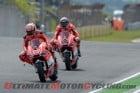 Ducati Team duo of Nicky Hayden and Andrea Dovizioso