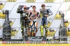 Sachsenring MotoGP podium