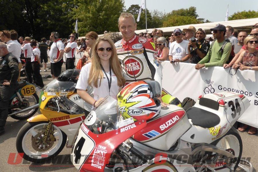 1993 500cc World Champion Kevin Schwantz