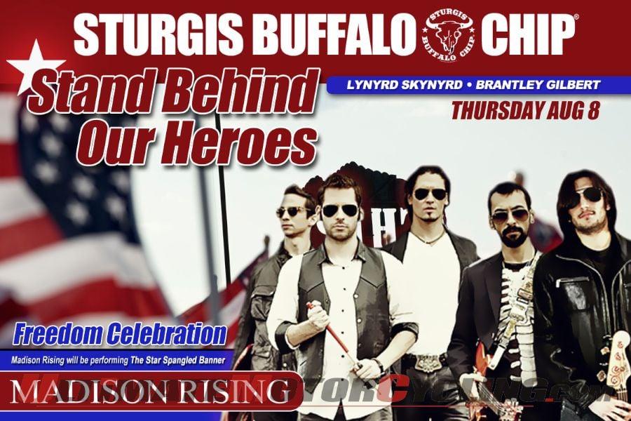 Sturgis Buffalo Chip Honors Benghazi Heroes During Freedom Celebration
