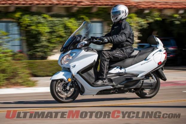 2013 Suzuki Burgman 650 ABS | Maxi-Scooter Review