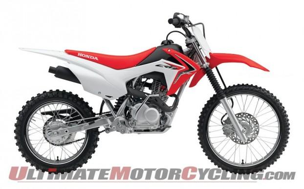 2014 Honda CRF125F Replaces CRF80F & CRF100F