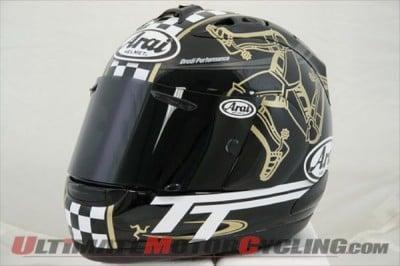 Arai Helmet Manufacturer Backs Classic TT Races