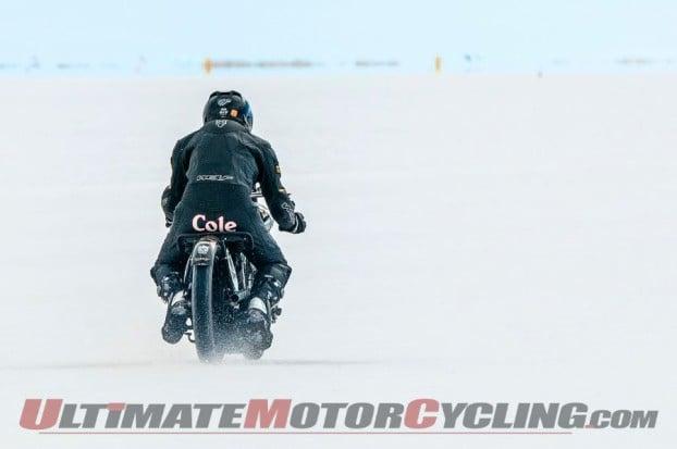 Brough Superior Team Sets 750cc Bonneville BUB Record