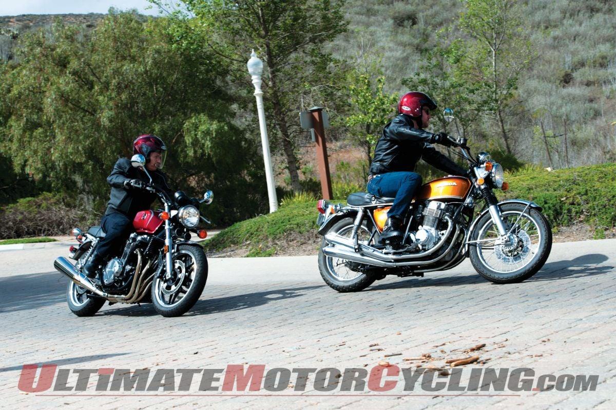 1972 Honda CB750 K2 & 2013 Honda CB1100 Comparison