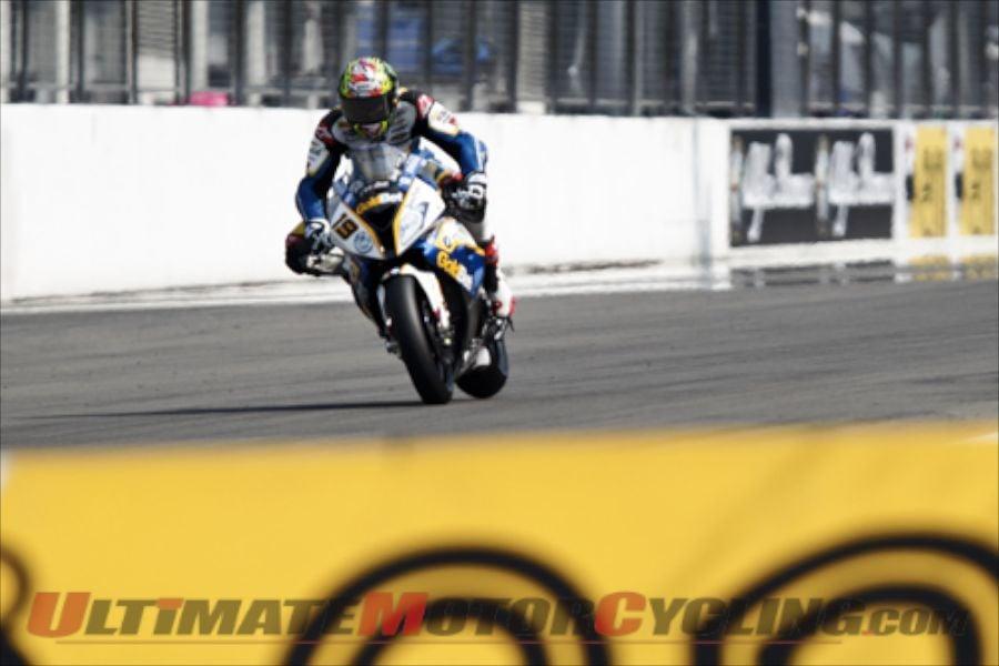 BMW Motorrad GoldBet's Chaz Davies