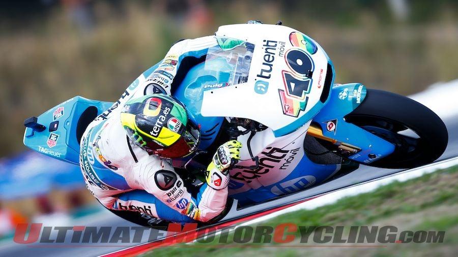 Brno Moto2: Tuent HP 40's Espargaro Leads Friday Practice