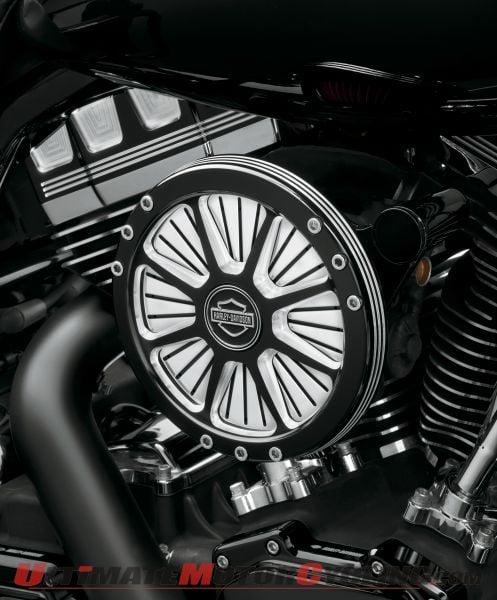 Harley Screamin' Eagle Burst Performance Air Cleaner Kit