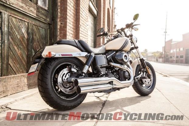 Harley-Davidson Restyles Fat Bob for 2014