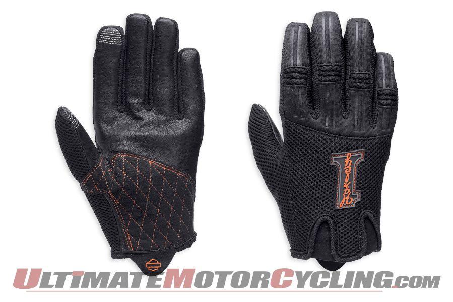 Harley-Davidson Releases Women's Lexi Mesh Gloves