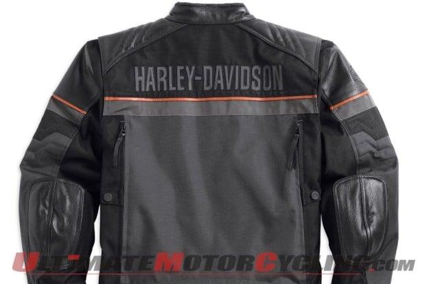 Harley-Davidson Releases Triple-Vent System Jackets