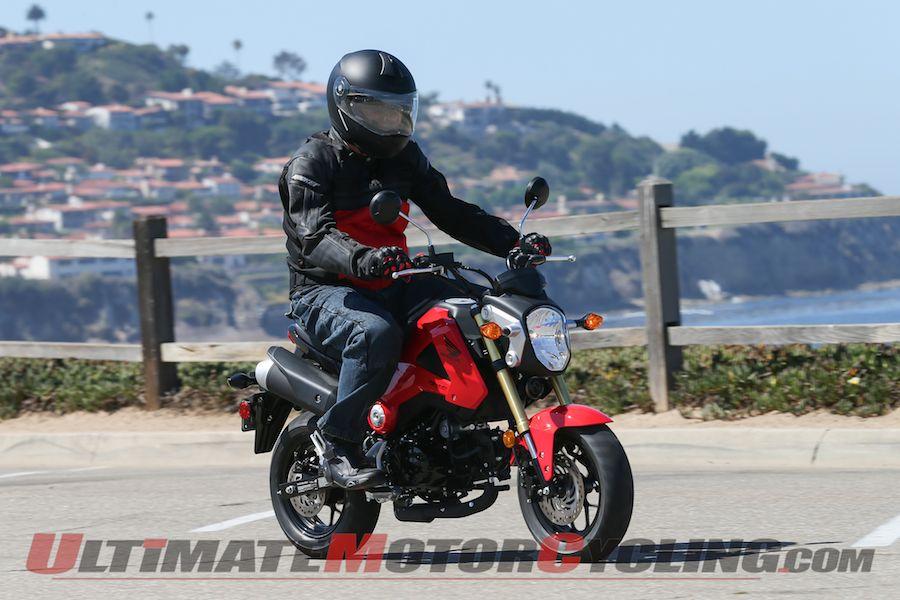 2014 Honda Grom Msx 125 First Ride Review