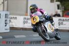 John Anstey at Classic TT