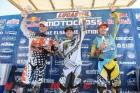 Lake Elsinore Motocross 450 Class Overall Podium