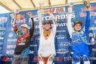 Lake Elsinore AMA Motocross 250 Class Podium