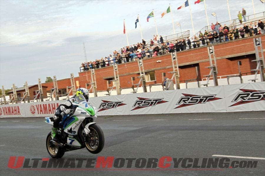 Manx Grand Prix: Yamaha's Sweeney Quickest on Monday