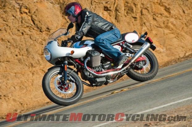 2013 Moto Guzzi V7 Racer Accessorized | Review