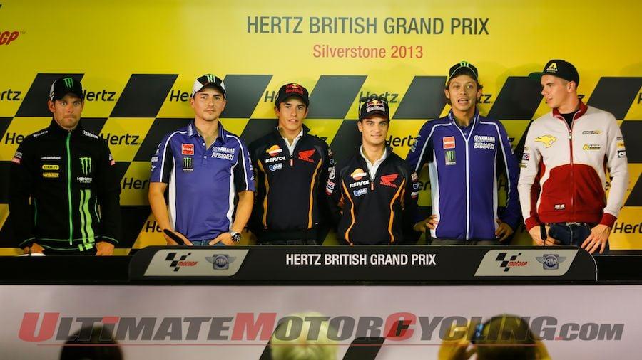 2013 Silverstone MotoGP | Pre-Race Conference