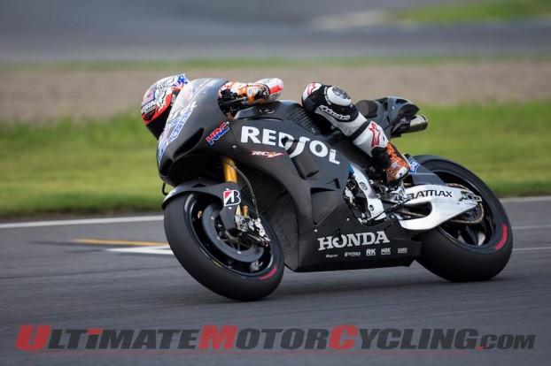 MotoGP: Casey Stoner Completes Test on 2014 Honda RC213V