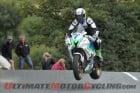 Michael Sweeney at Junior Manx Grand Prix