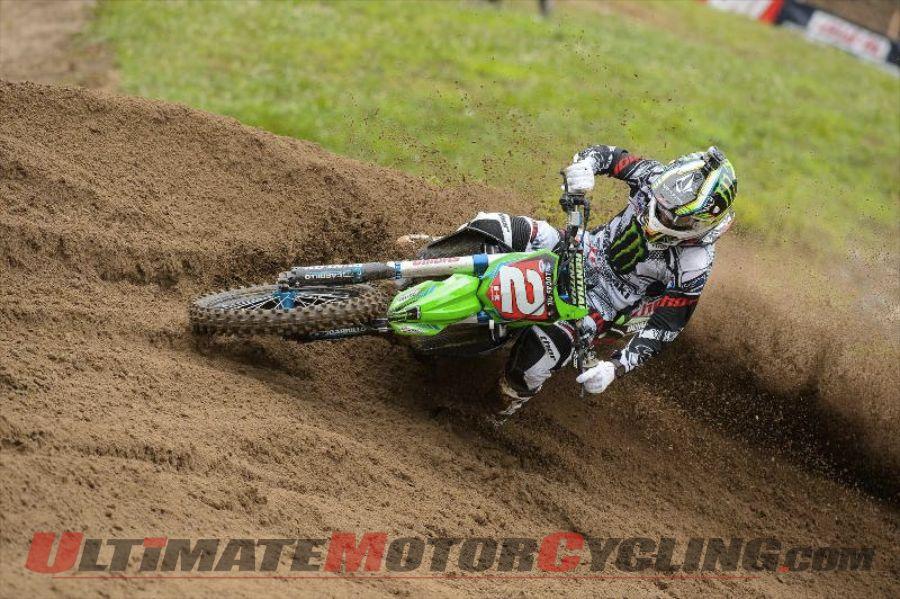 Kawasaki's Villopoto Leads AMA Motocross Heading into Unadilla