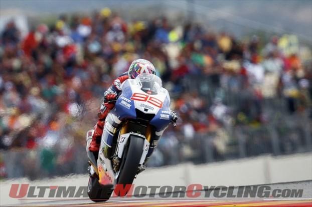 2013 Aragon MotoGP | Results