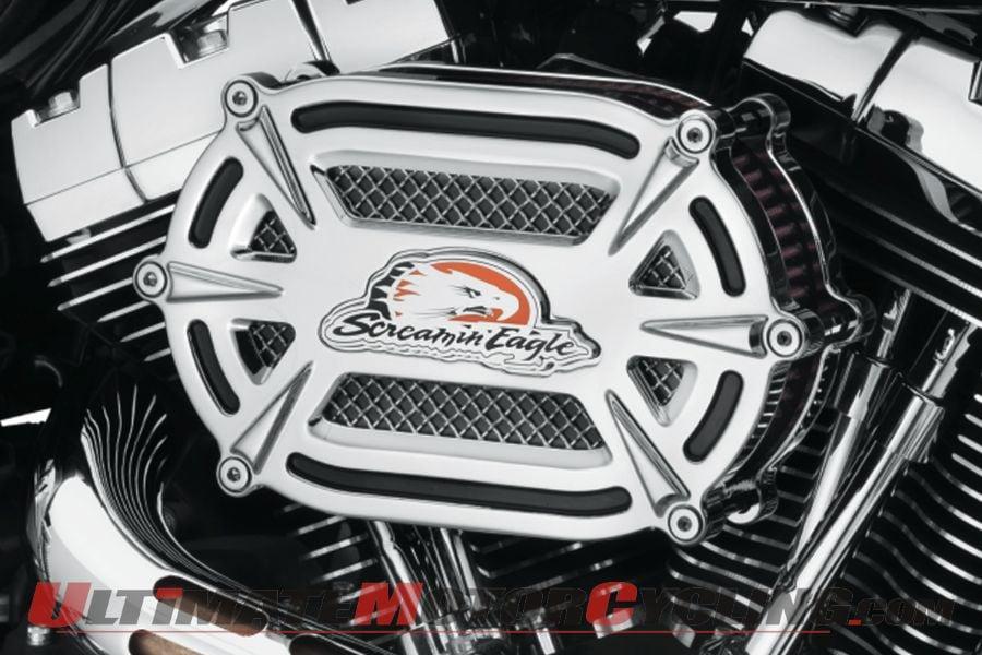Harley Releases Screamin' Eagle Billet Ventilator Air Cleaner