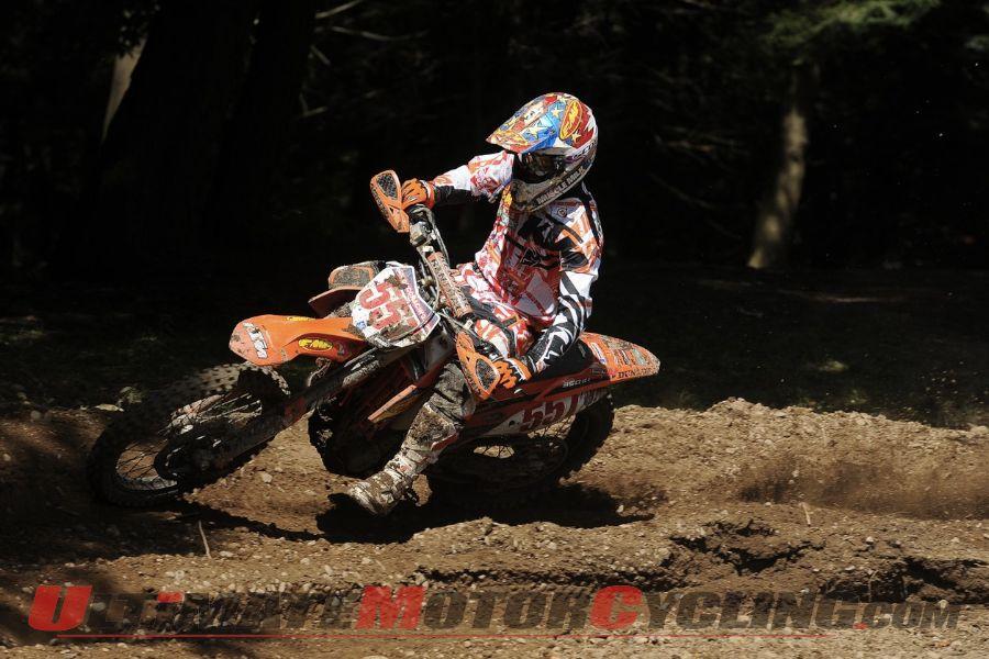 Factory KTM's Russell Wins Unadilla GNCC