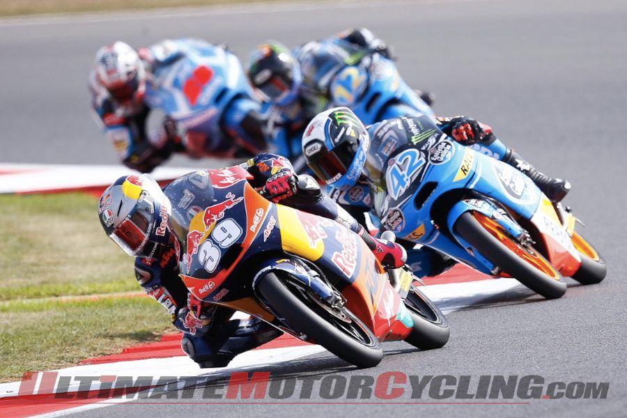 2013 Silverstone Moto3 | Results