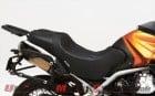 Moto Guzzi Stelvio 1200 with Corbin Canyon Dual Sport Saddle