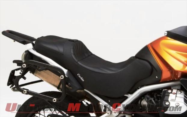 Corbin Canyon Dual Sport Seat for Moto Guzzi Stelvio 1200