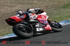 Team Alstare Ducati's Ayrton Badovini