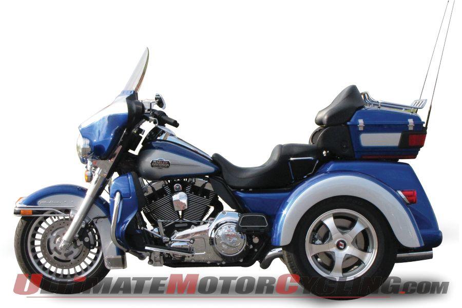 Lehman Trikes Releases Trinity LLS for Harley FLH Motorcycles