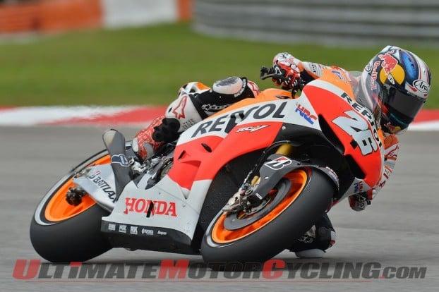MotoGP: Honda's Marquez Earns 8th Pole at Sepang