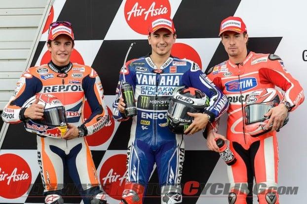 Motegi MotoGP Qualifying | Lorenzo Tops Marquez for Pole