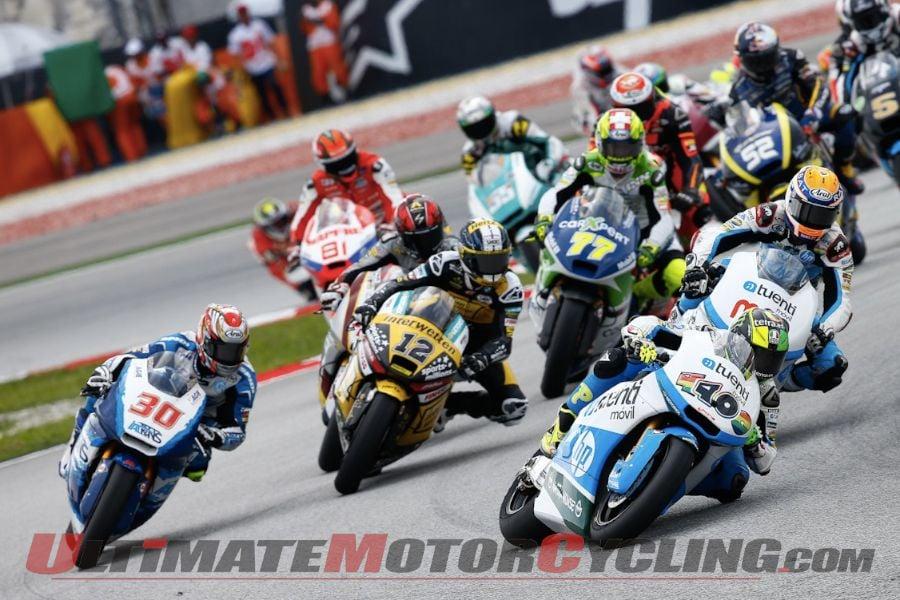 Start of Sepang Moto2