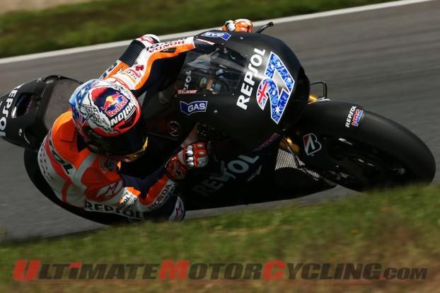 MotoGP: Stoner Continues Testing Honda RC213V