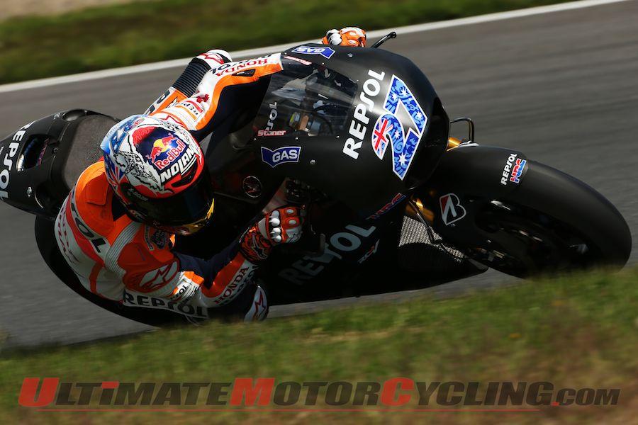 MotoGP: Stoner Completes RC213V Test at Sportsland Sugo